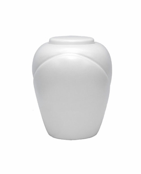 Pearl Traditional Sand and Gelatin Biodegradable Cremation Urn