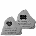 Personalized Pet Stones Memorial Garden Stones