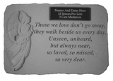 Personalized Stone - Those We Love - Memorial Garden Stone