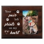 Pet Walnut Wood Picture Frame - Prints On My Heart