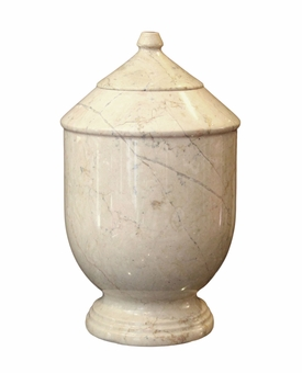 Petra Cameo Marble Pet Cremation Urn