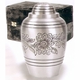 Pewter Bouquet Brass Cremation Urn