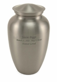 Pewter Classic Gloss Adult Cremation Urn