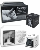 Photo Engraved Pet Urns