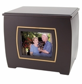 Photo Frame Modern Companion Wood Cremation Urn