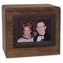 Photo Walnut Wood Companion Cremation Urn