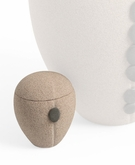Piedra Handcrafted Sand and Pebble Keepsake Cremation Urn