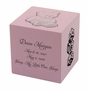 Pink Teddy Bear Box MDF Infant Child Cremation Urn