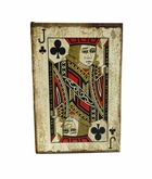 Playing Cards Jack Of Clubs Keepsake Cremation Urn