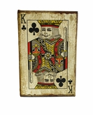 Playing Cards King Of Clubs Keepsake Cremation Urn