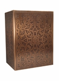 Pontalba Custom Handcrafted Copper Cremation Urn