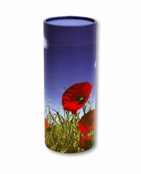 Poppy Eco Friendly Cremation Urn Scattering Tube in 6 sizes