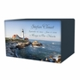 Portland Head Lighthouse Eternal Reflections Wood Cremation Urn - 5 Urn Choices