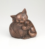 Precious Kitty Copper Pet Cremation Urn