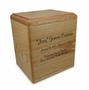President's Oak Wood Cremation Urn