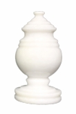 Princess Mini Antique White Marble Keepsake Cremation Urn