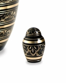 Radiance Brass Keepsake Cremation Urn