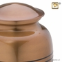 Radiance Copper Finish Finish Cremation Urn