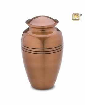 Radiance Copper Finish Cremation Urn