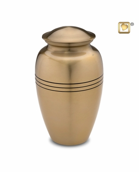 Radiance Gold Cremation Urn