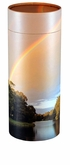 Rainbow Pond Eco Friendly Cremation Urn Scattering Tube in 6 sizes