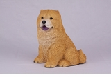 Red Chow Hollow Figurine Pet Cremation Urn - 2728