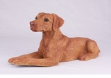 Red Tan Doberman Pincher Hollow Figurine Pet Cremation Urns - 2746