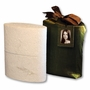 Reflect Biodegradable Cremation Urn with Silk Bag and Picture Frame