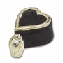 Renaissance Brass Keepsake Cremation Urn with Heart Box