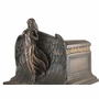 Rising Angel Cold Cast Bronze Finish Cremation Urn