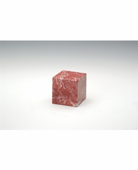 Rose Small Cube Cremation Urn - Engravable