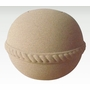Round Sand and Gelatin Biodegradable Cremation Urn