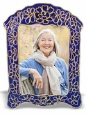 Royal Blue Cloisonne Picture Frame