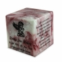 Ruby Small Cube Cremation Urn - Engravable
