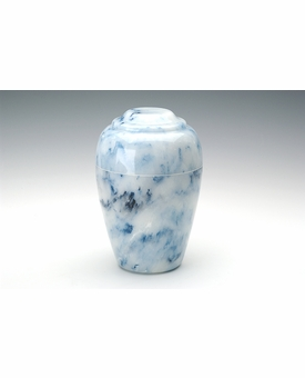 Sapphire Small Grecian Cremation Urn - Engravable