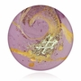 Sassy Cremains Encased in Glass Cremation Healing Stone