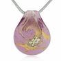 Sassy Cremains Encased in Glass Cremation Jewelry Pendant