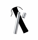 Satin Silver Keepsake Scattering Tube (SET OF 6)