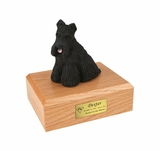 Scottish Terrier Dog Figurine Pet Cremation Urn - 1349