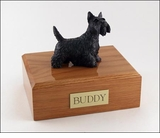 Scottish Terrier Dog Figurine Pet Cremation Urn - 205