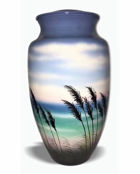 Sea Breeze Picture Cremation Urn