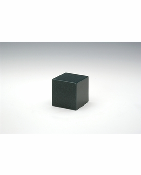 Sea Holly Green Small Cube Cremation Urn - Engravable