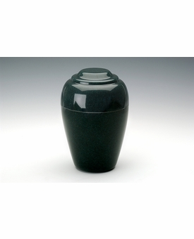 Sea Holly Green Small Grecian Cremation Urn - Engravable