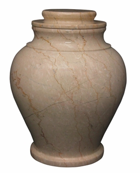 Serenity Cameo Marble Cremation Urn