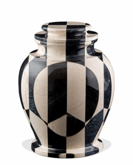 Serenity Nouveau Marble Cremation Urn