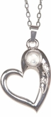 Serenity Prayer Heart Magnifier Jewelry Pendant Necklace