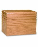Serenity - Wood Infant Cremation Urn - Engravable