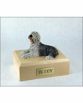 Sheepdog Dog Figurine Pet Cremation Urn - 222
