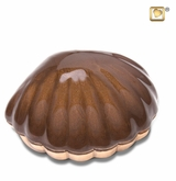 Shell Bronze Finish Keepsake Cremation Urn