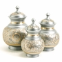 Silver Engraved Cremation Urn- 3 Sizes